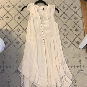 Anthropologie Ivory Blouse size XS